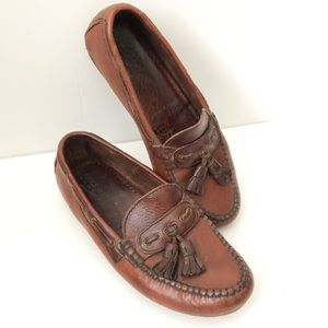 Cole Haan country loafer tassle leather